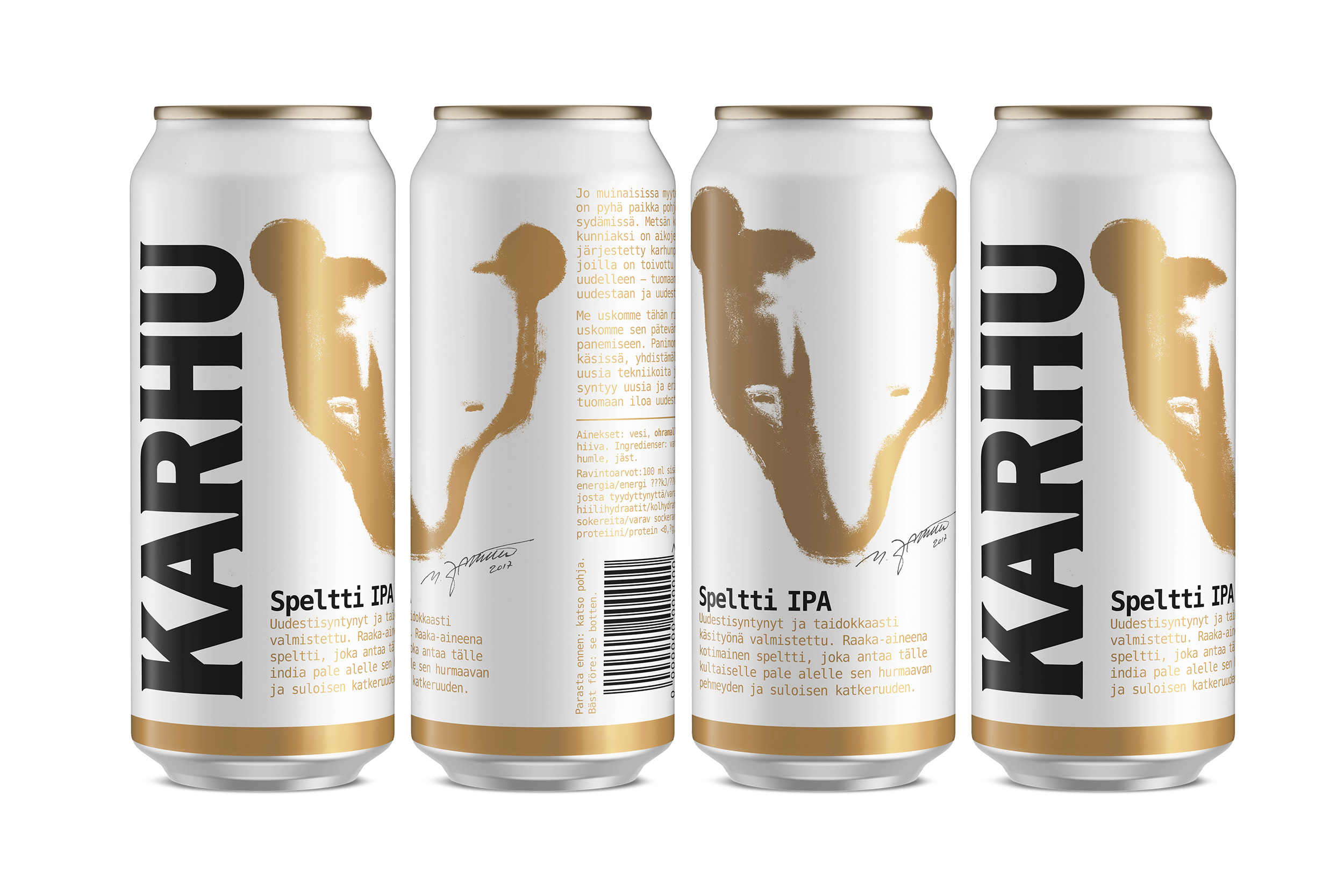 Karhu_Craft_Spelti_cans-line-up
